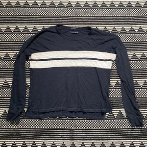 Abercrombie and Fitch Women's Long-sleeve Shirt